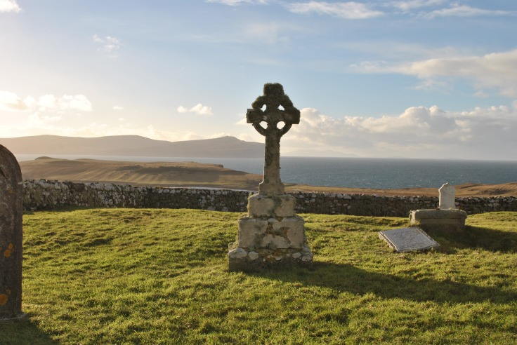 Trumpan Graveyard. Isle of Skye