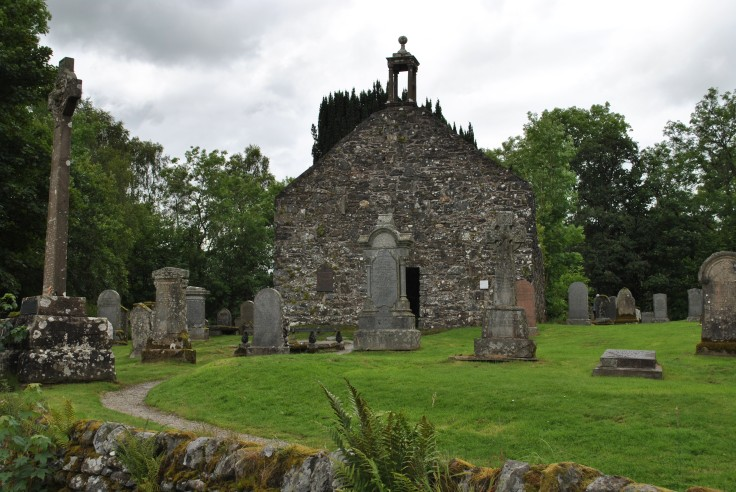 Balquhidder, Rob Roy's grave(4)