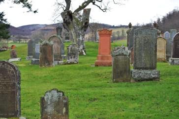 Glenconvinth graveyard