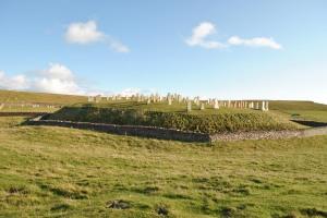 Levenwick graveyard, Shetland Mainland
