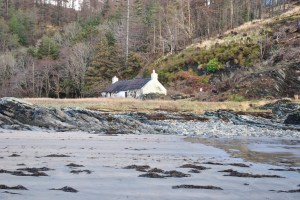 Sandaig, last cottage remaining
