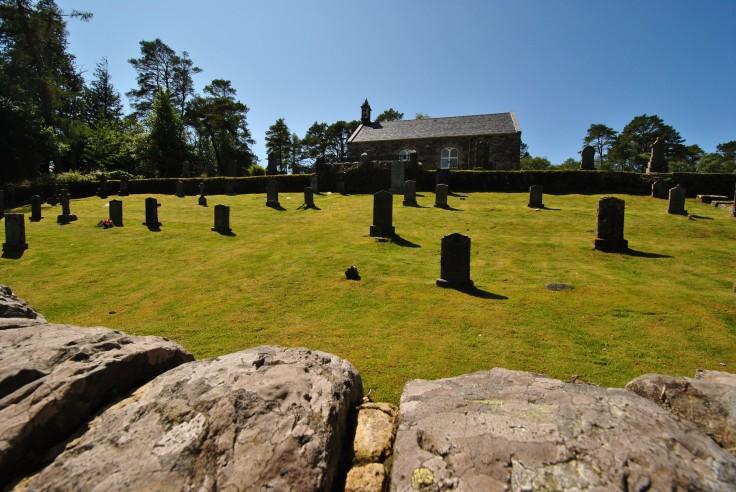 Acharacle graveyard, Loch Shiel