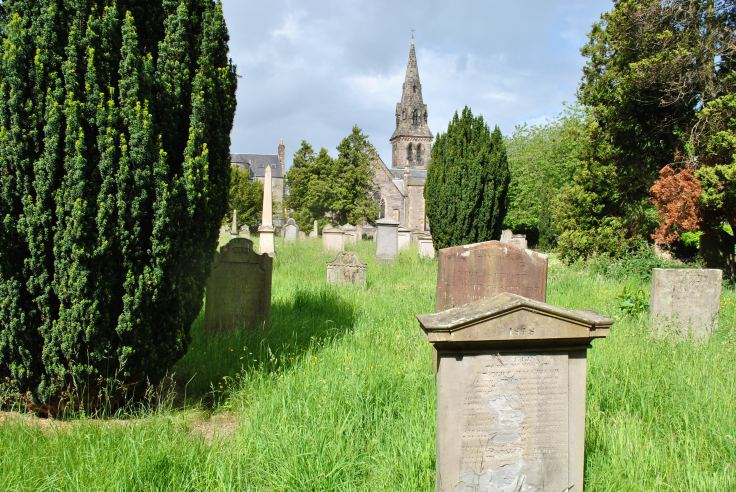 The joy of all things living and a graveyard seems an odd combination to say the least but on closer look this is exactly what Greyfriars burial ground in Perth is all about and has been through the centuries to this day.
