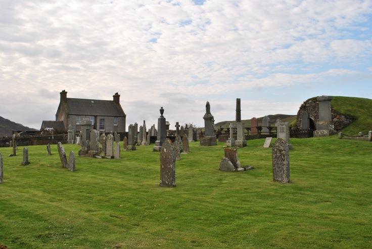 Tingwall graveyard, Shetland