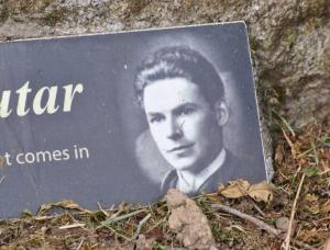 William Soutar's grave