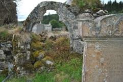 ruin medieval church, Cill Choluimchille, Lochaline, Morvern, Scotland