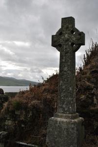 Donald Livingstone grave banner
