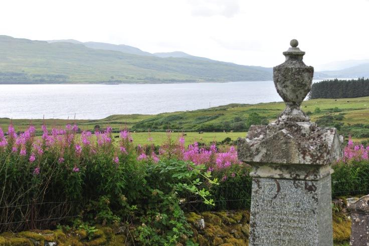 graveyards, Lochaline, Morvern, Scotland