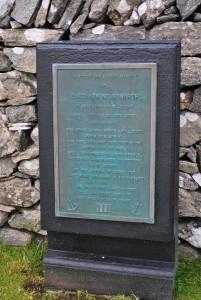 gravestone of David Armine Howarth