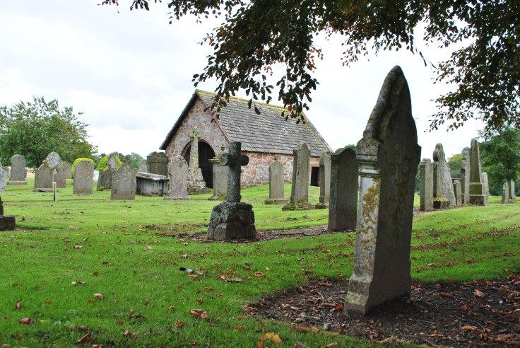 Edzell graveyard Lindsay burial aisle