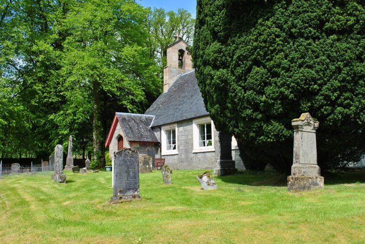 Strontian, Ardnamurchan, the Parish church built in the 1820s by Thomas Telford, one of 32 churches built in thinly populated areas.