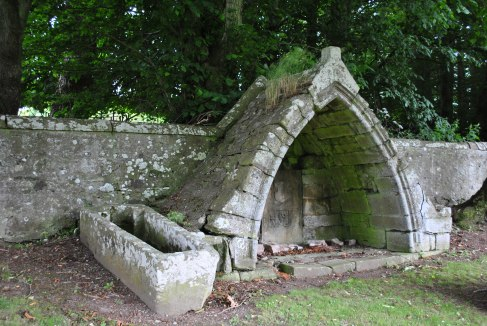 Gordon tomb Rhynie Gothic