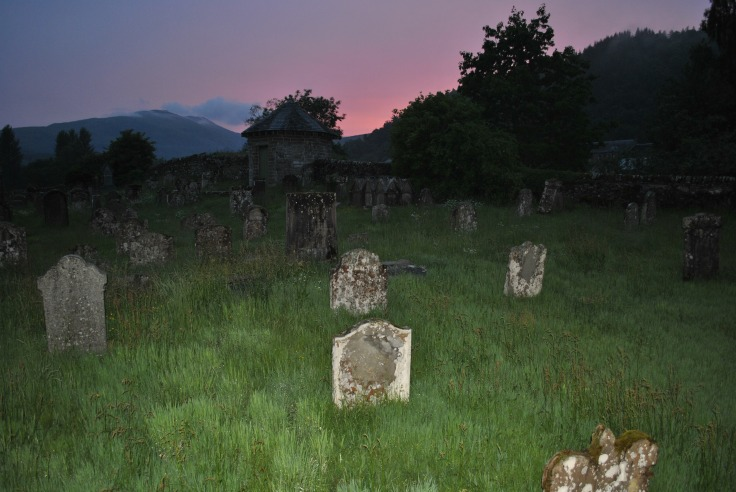 This peaceful graveyard once was haunted by very creepy businessmen – graverobbers.