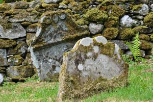 The Clan lived in this area for seven centuries, but they did not always bury their dead here. In fact, they were traditionally buried in Killin, an ancient burial site about 10 miles away from Ardveich.