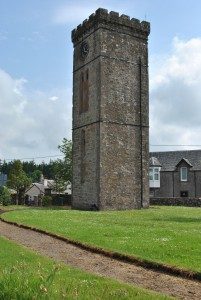 The tower in Braco is much younger. Built in 1844 and opened in 1845 it was once part of Braco Free Church. Built more or less immediately after the Disruption of 1843 when the first ministers left the Church of Scotland to form the Free Church of Scotland. New beginnings in church as well as everyday life.