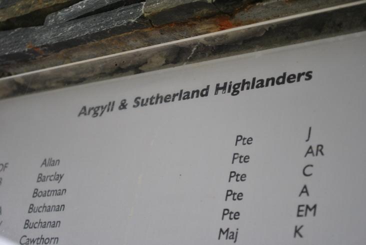 Scottish Korean War Monument (14)