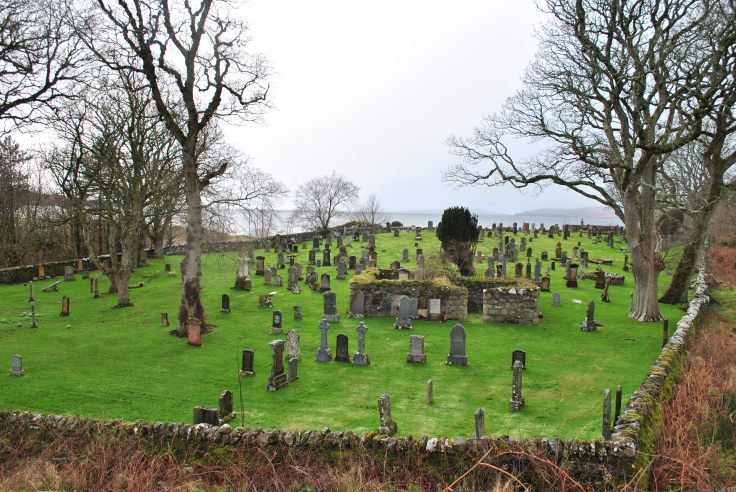 warrior chief Hector Roy Mackenzie Gairloch graveyards of Scotland