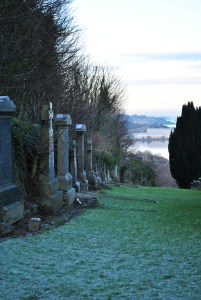 health and safety Inverkeithing graveyards of scotland
