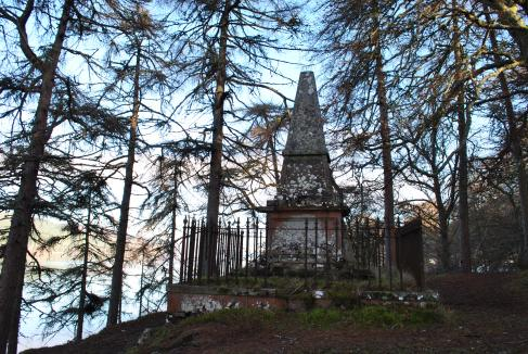 Graveyards of Scotland Foyers Glenmorriston Jane Fraser memorial
