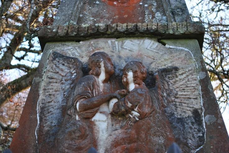 Graveyards of Scotland Foyers Glenmorriston Jane Fraser memorial
