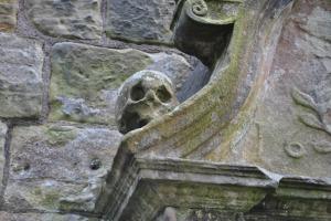 St Bridget's church Dalgety Bay Fife Graveyards of Scotland