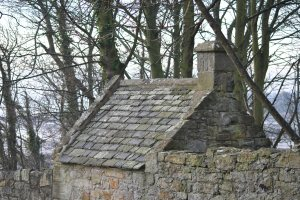St Bridget's church Dalgety Bay Fife Graveyards of Scotland watchhouse bodysnatchers