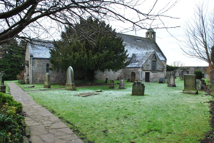 graveyards of Scotland Aberdour holy well Fife church