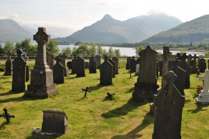 beauty and relaity Ballachulish GRaveyards of Scotland Nellie Merthe Erkenbach