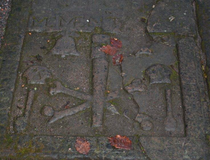 Graveyards of Scotland Beauly Cathedral romantic poetry