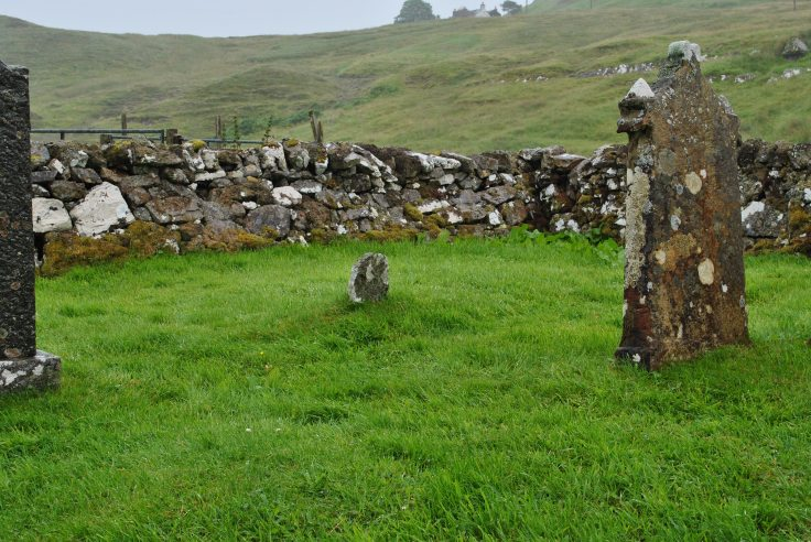 vast nothingness graveyards of Scotland Sutherland Elphin