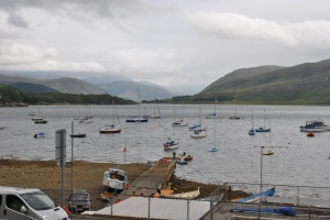 graveyards of Scotland Jacobite hideout Ullapool