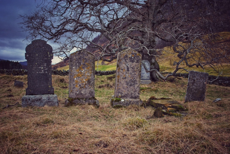 graveyardsof Scotland Biallidbeg Badenoch Burial Ground Macpherson Macintyre