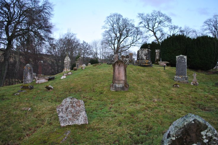 Graveyards of Scotland Fodderty cursed spirits Nellie Merthe Erkenbach