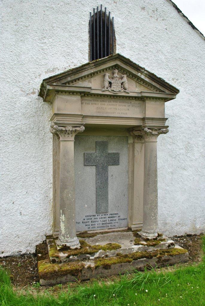 memorial to Lady Louisa Stuart