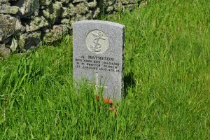 grave A Matheson CWGC