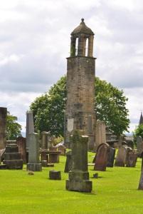 bell tower Carluke old cemetery