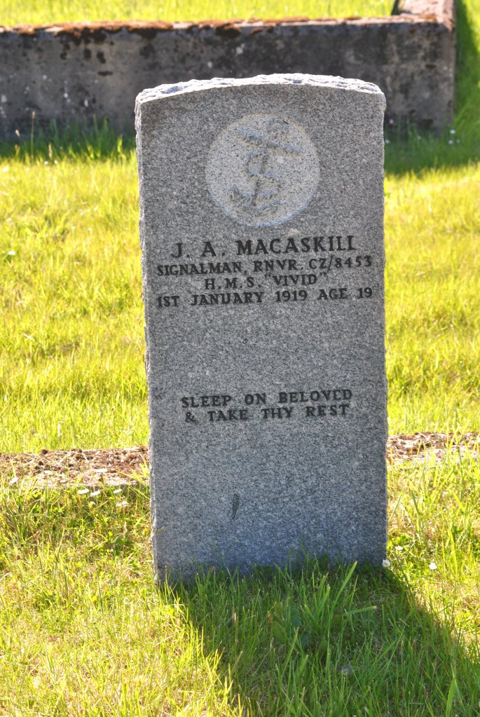 CWGC J A MacAskill
