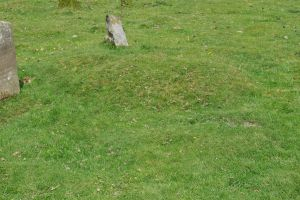 mound on graveyard