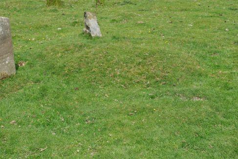 mound on graveyard