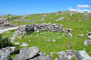 remains of old house mealastadh