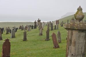 graveyard looking towards Tolsta Head