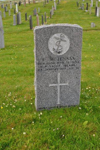 CWGC MC Lennan Iolaire