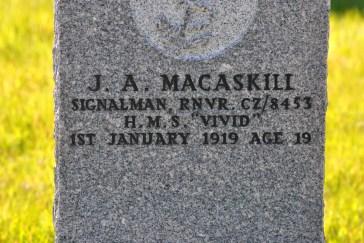 CWGC Macaskill Iolaire