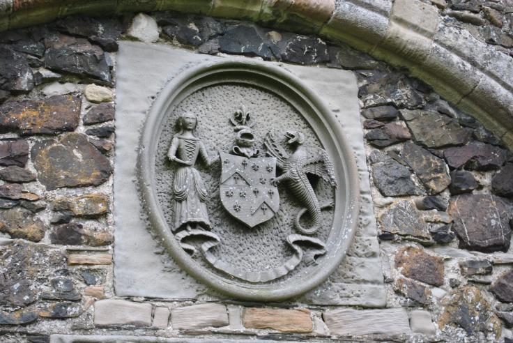 heraldic stone