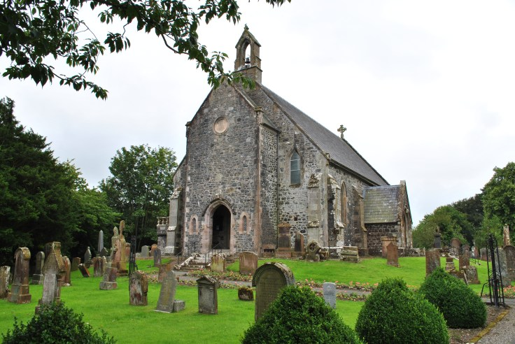 Colmonell church and graveyard