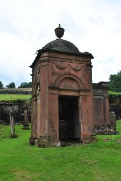 Gillespie of Peelton mausoleum Glencairn churchyard