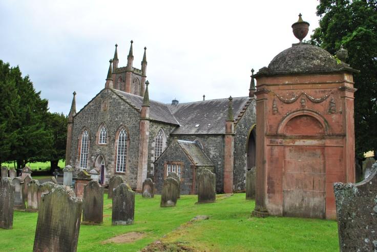 Glencairn Parish Church and graveyard