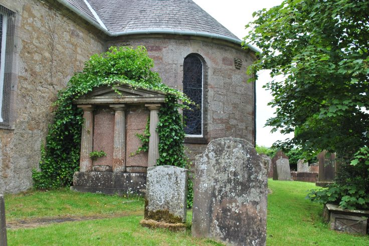 KIrconnel church and graves