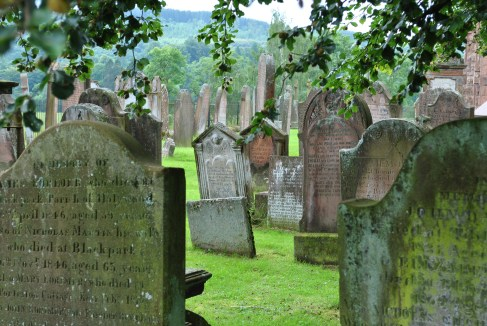 ©nme Nellie Merthe Erkenbach Graveyards of Scotland Penpont water of life