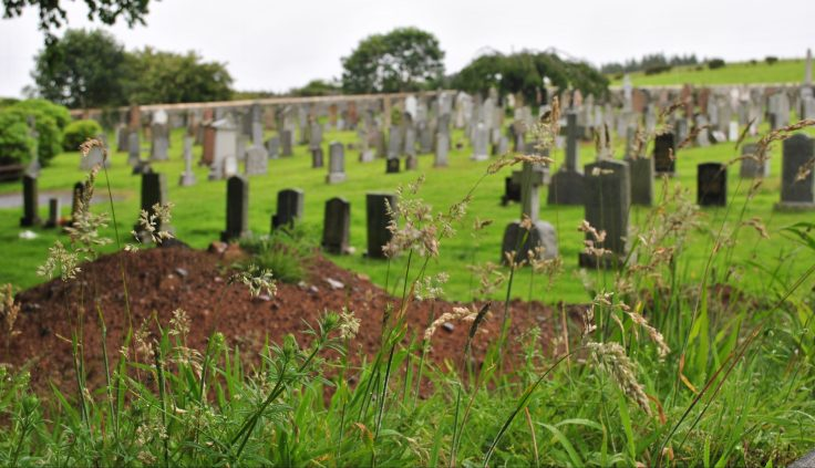 older part of new cemetery Portpatrick